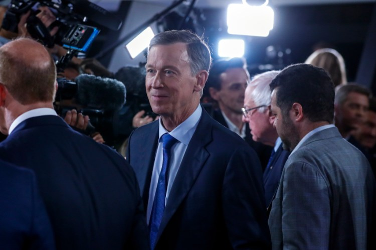 Andrew Romanoff John Hickenlooper hits the airwaves in U.S. Senate race