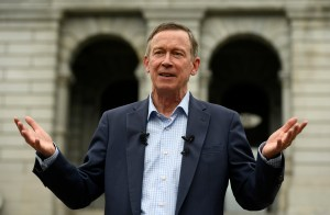 Andrew Romanoff Hickenlooper excuses past remarks comparing politicians to servants