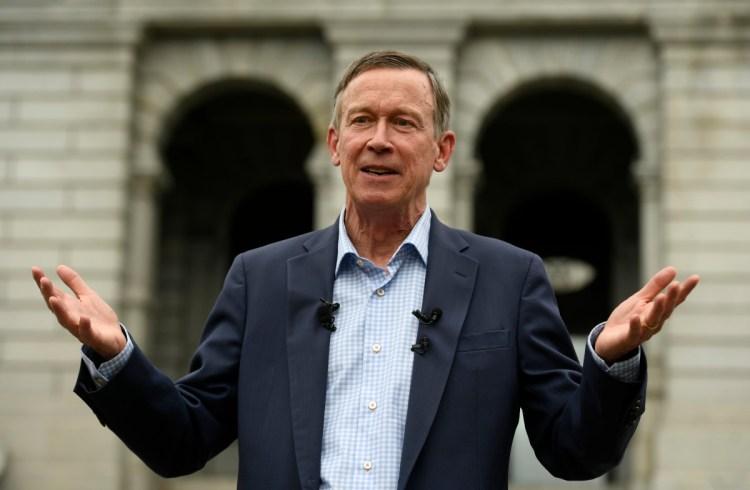 Andrew Romanoff Hickenlooper excuses past remarks comparing politicians to servants