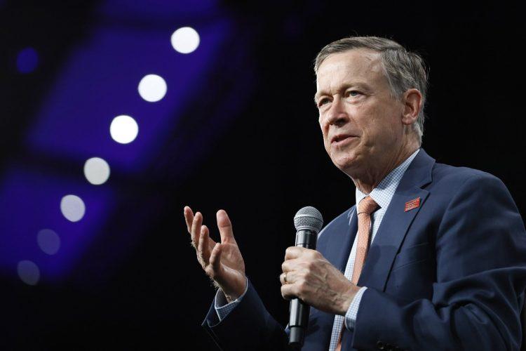 Cory Gardner John Hickenlooper wins Colorado's Democratic Senate primary (Nicholas Riccardi/Associated Press)
