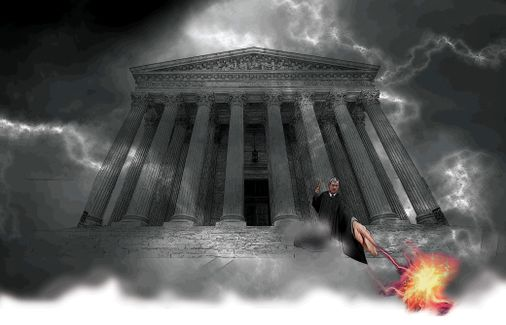 Cory Gardner The future of the Supreme Court looms over this election