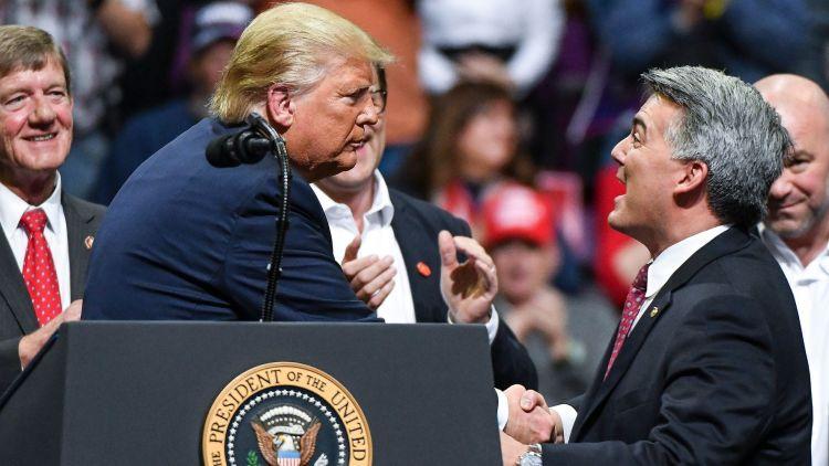 Cory Gardner Cory Gardner Runs Pro-Trump Advertisement Being Seen Everywhere– Other Than In Colorado