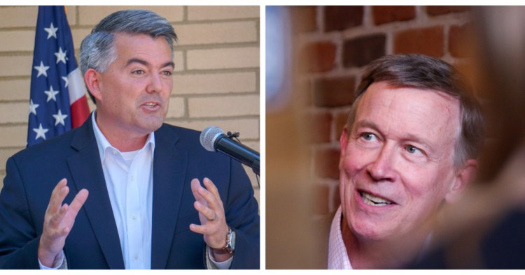 Cory Gardner Ruth Bader Ginsburg's death pours intensity on, could reshape Colorado's hotly contested Senate race (Jesse Paul/The Colorado Sun)