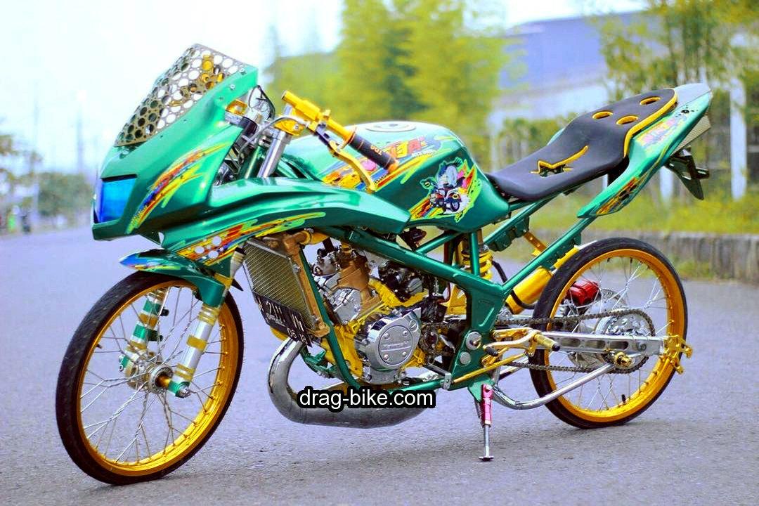32 Ide Top Gambar Motor Drag Pantun