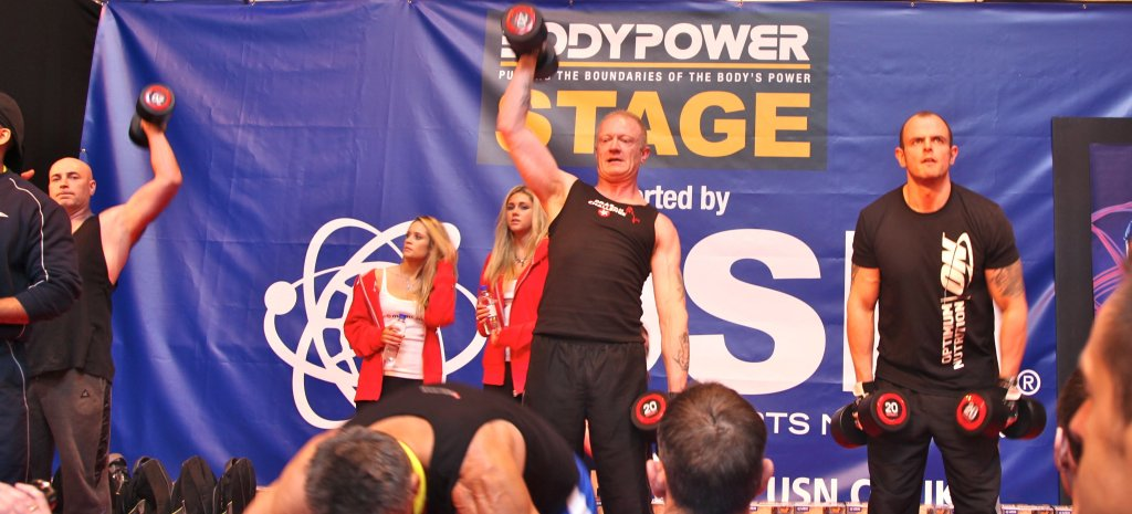 Max Reps Finalists on Stage