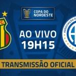 Transmissão: Sampaio Corrêa x Confiança | Pré-Copa do Nordeste 2020