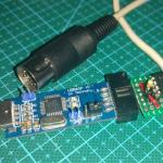 Hacking an AVR programmer to function as a USB MIDI interface