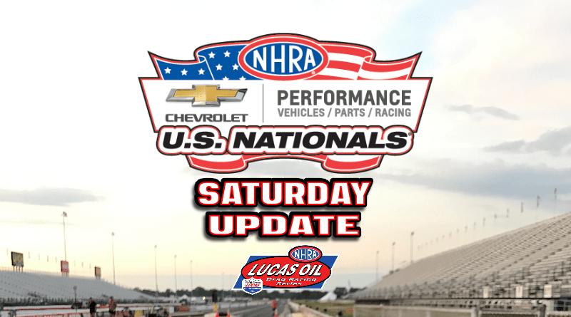 2018 NHRA US Nationals Sportsman Results - Saturday