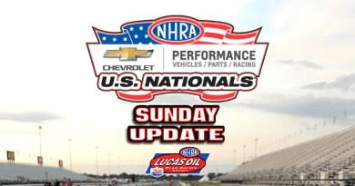 2018 NHRA US Nationals Sportsman Results - Sunday
