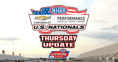 2018 NHRA US Nationals Sportsman Results - Thursday