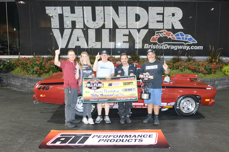 2018 Sparco Fall Fling Winner Rocky Pintavalle