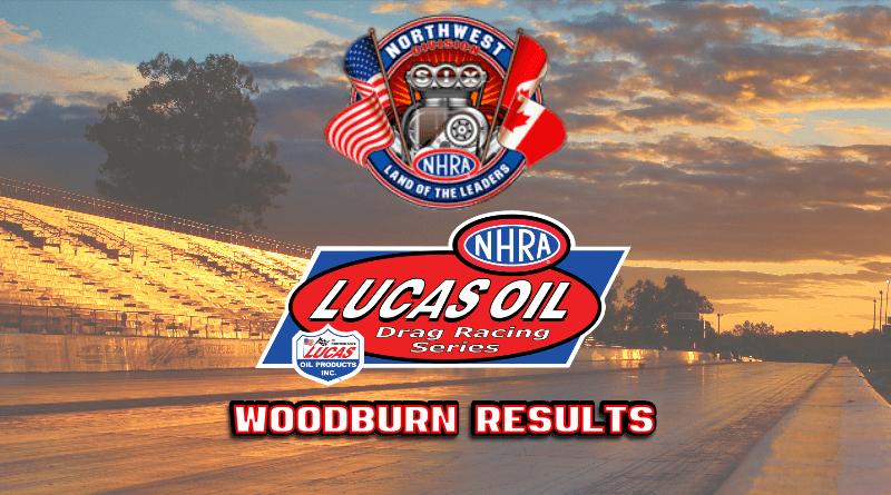 2018 NHRA Division 6 LODRS Woodburn Dragstrip Results