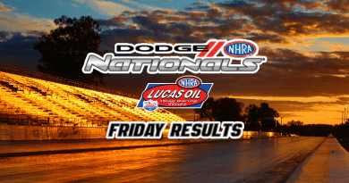 2018 NHRA Dodge Nationals Sportsman class racing Friday Results