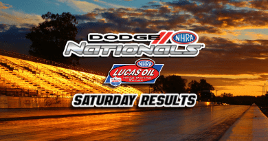 2018 NHRA Dodge Nationals Saturday Sportsman Results
