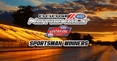 2018 NHRA Dodge Nationals Sportsman Winners