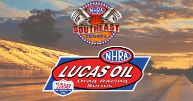 NHRA Division 2 Lucas Oil Drag Racing Series Results
