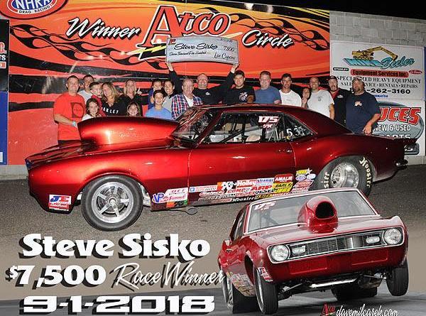 Steve Sisko 7500 Winner 9-1-18
