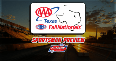 2018 AAA Texas Fall Nationals Sportsman Class Preview