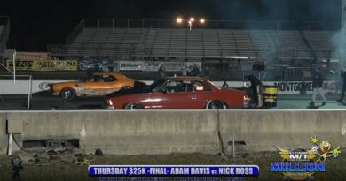 2018 the Million dollar race Thursday 25k final round adam davis vs nick ross