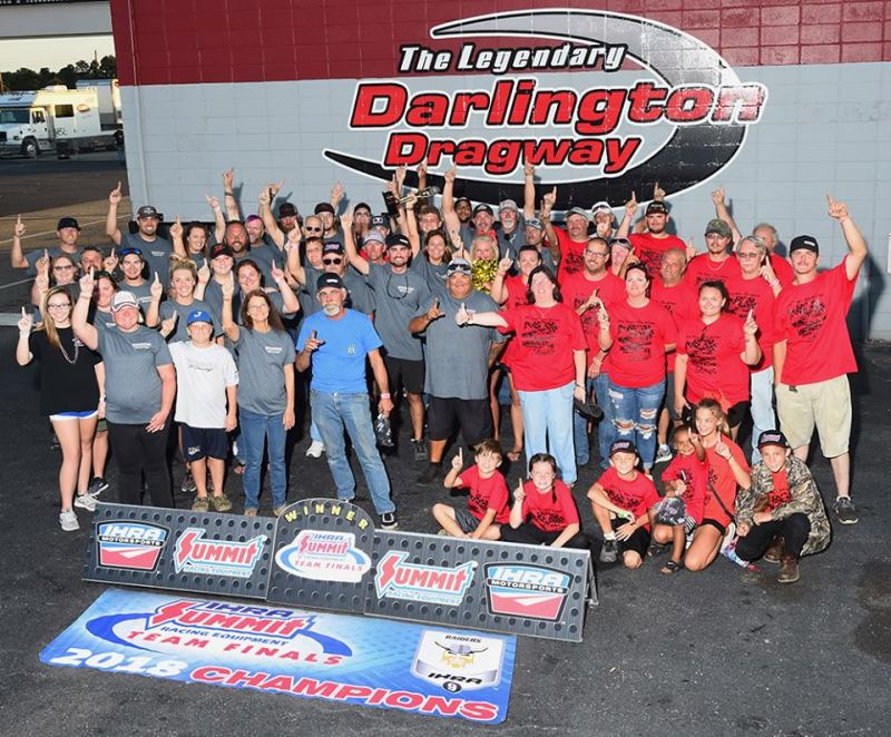 Darlington Team Champs IHRA Division 9 Bracket Finals