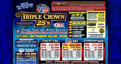 No Limit Promotions Triple Crown 25s Flyer Oct 25-28