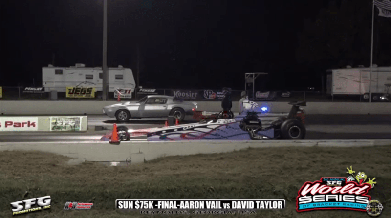 2018 SFG World Series of Bracket Racing Sunday 75K final aaron vail vs david taylor