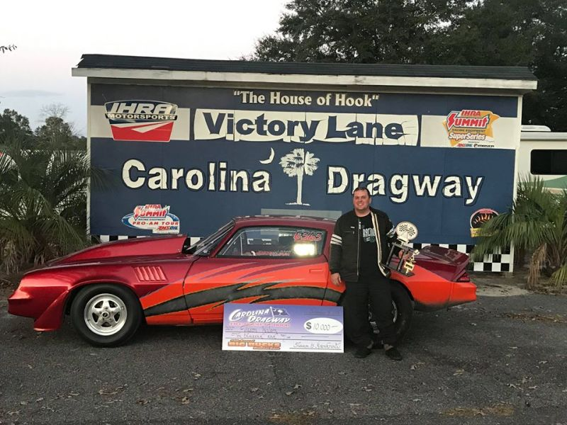 Jason Wilson Carolina Dragway Sunday 10k winner Nov 18 2018