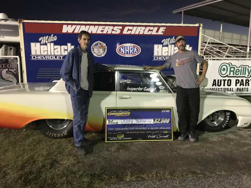 Jody Patterson Friday Super Pro Winner at 2018 Cowpasture Nationals