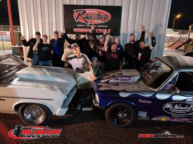 Max McGlothin and Ian Dunaway No Box Finalist Big Country Raceway 11.24.18