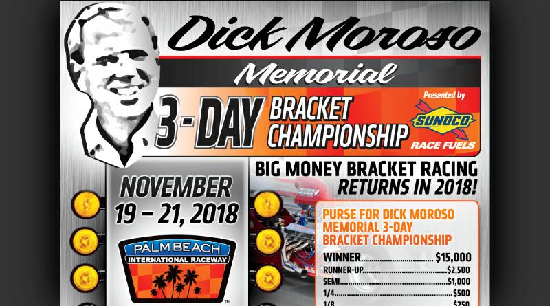 PBIR Dick Moroso Memorial 3-Day Bracket Championship Nov 19-21