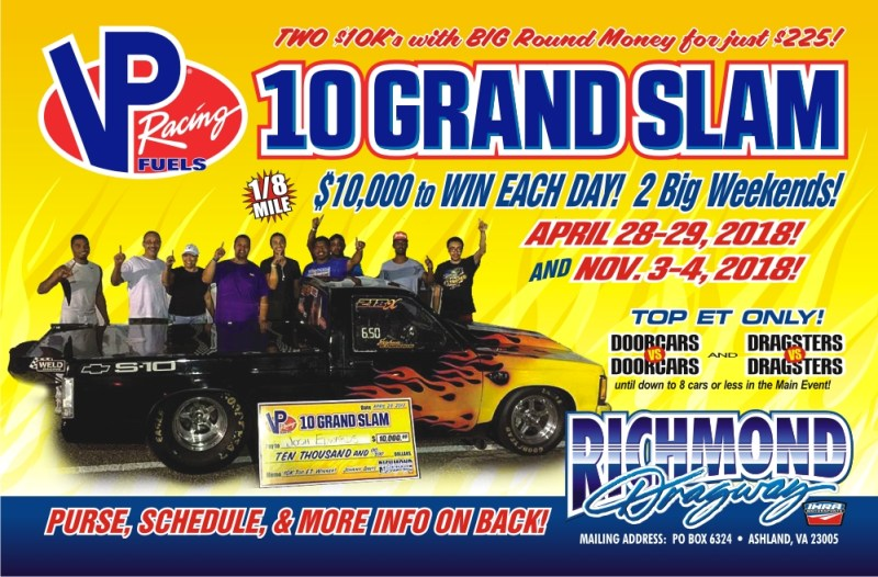 Richmond Dragway 10 GRAND SLAM Nov 3-4 2