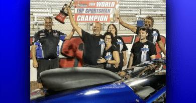 Ronnie Proctor 2018 NHRA Top Sportsman World Champion