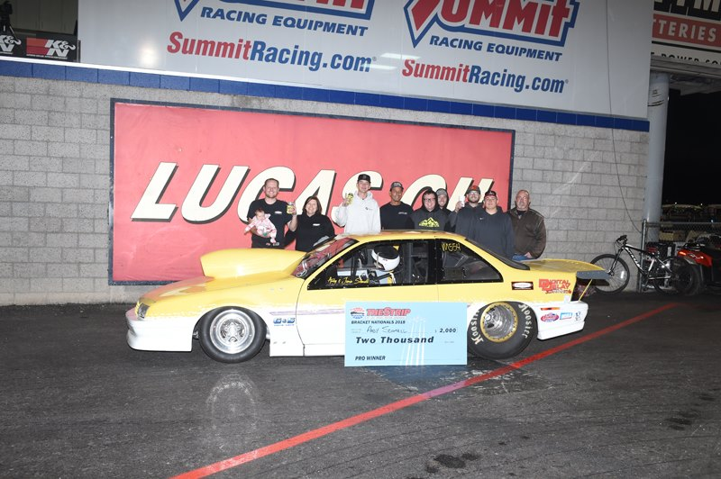Andy Schmall Pro Winner at LVMS Bracket Nationals 11-23-18