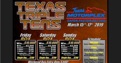 Texas Motorplex Texas Triple Tens March 15-17