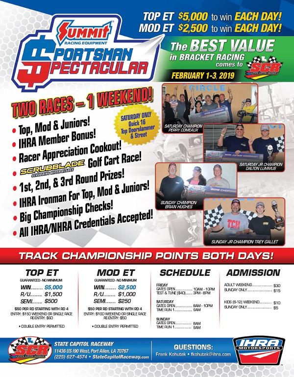 2019-IHRA-summit-sportsman-spectactuar-Flyer-State-Capitol-Raceway-2019