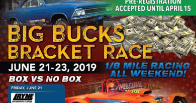 Cordova Big Bucks Bracket Race Coming in June