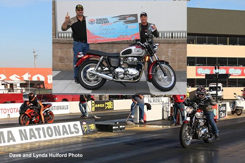 Doug Love Sonoma Motorcycle winner 012719