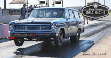 South Central Drag Racing Big Check Bracket Points Series 2019