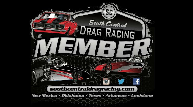 South Central Drag Racing Members Logo