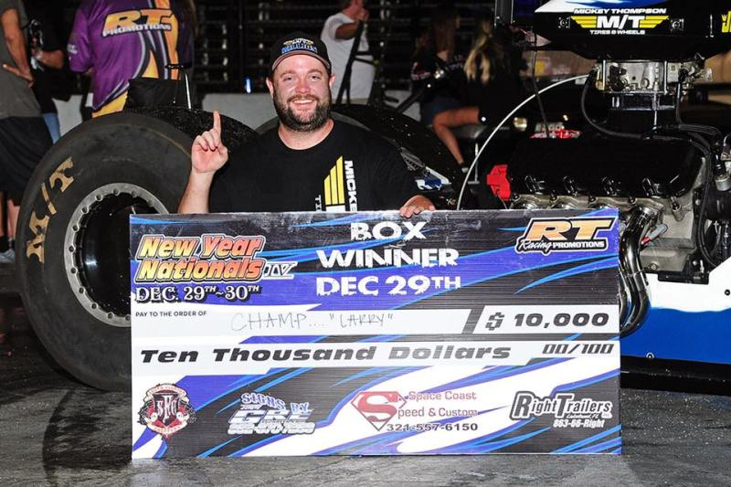 Stephen Champ McCrory Saturday PBIR New Year Nationals Box Winner 12-29-18
