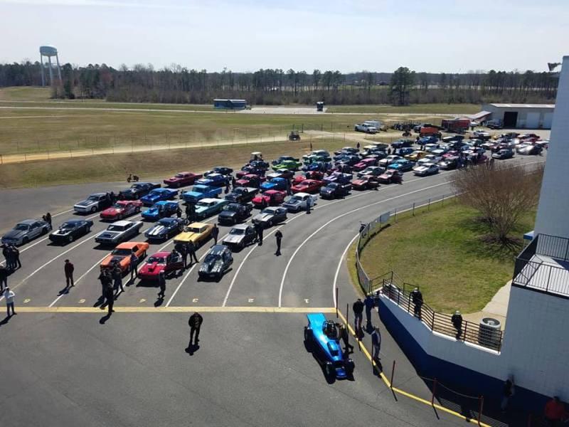 2019 Loose Rocker St Patricks Classic Virginia Motorsports Park Staging Lanes