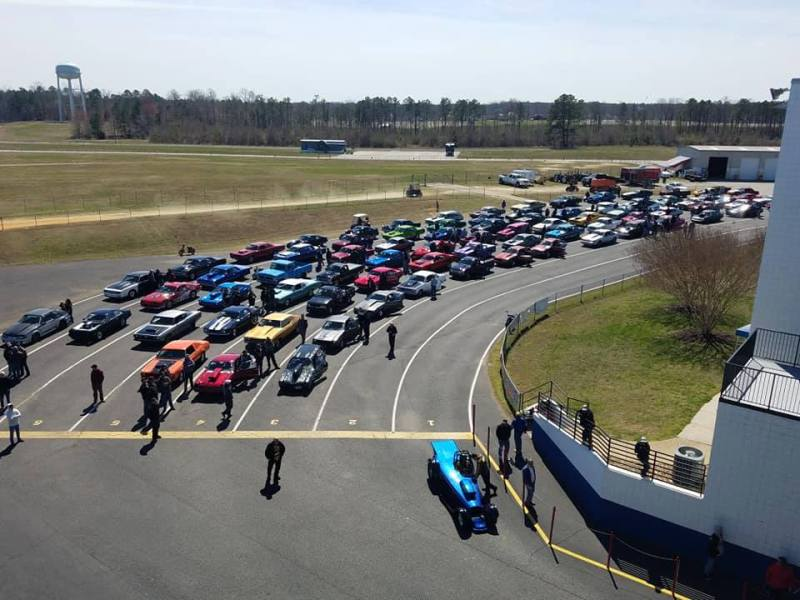 2019 Loose Rocker St Patricks Classic Virginia Motorsports Park Staging Lanes