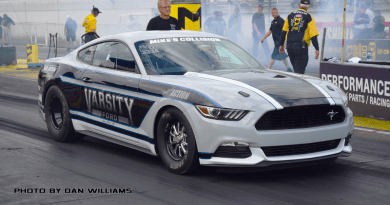 Chris Holbrook Cobra Jet Mustang Factory Stock Showdown NHRA parity adjustment
