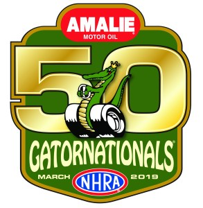 Gatornationals 50th Logo