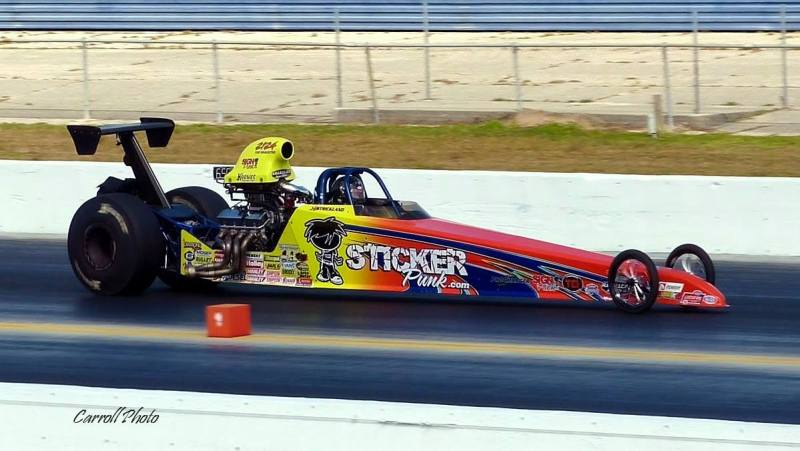 Jeff Strickland Top Dragster