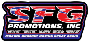 SFG Promotions Making Bracket Racing Great Again Logo