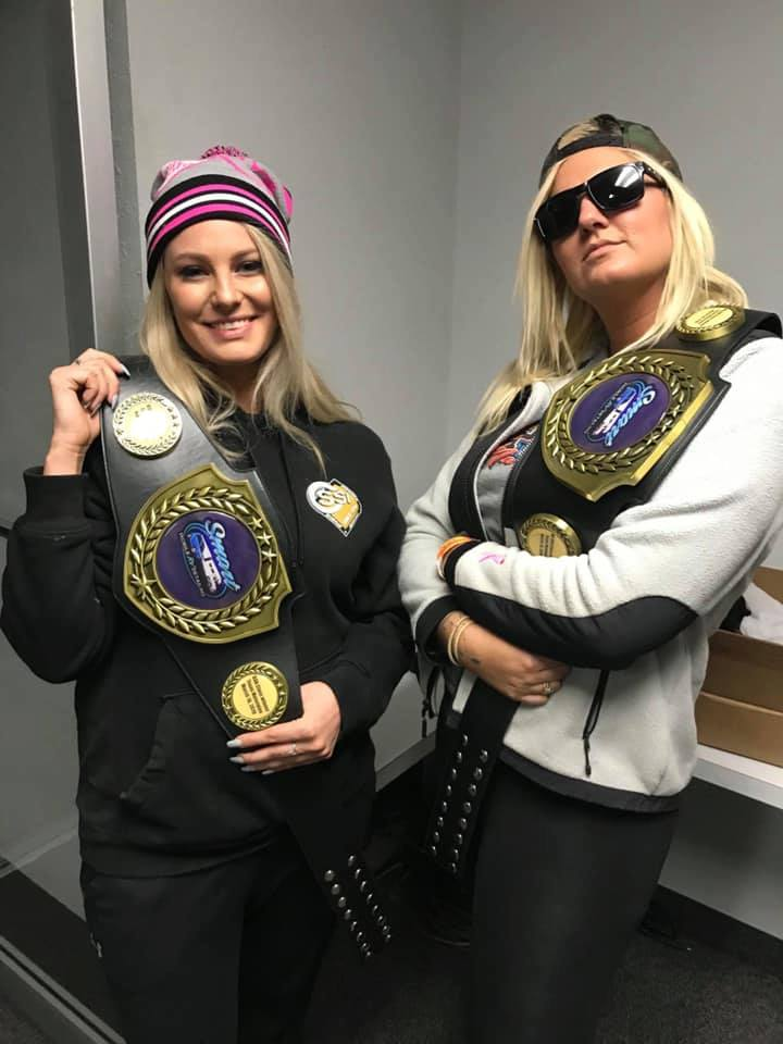 Texas Triple Tens Champions Belts
