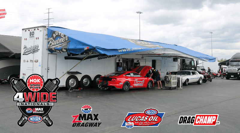2019 NHRA Four Wide Nationals Lucas Oil Sportsman Friday Results