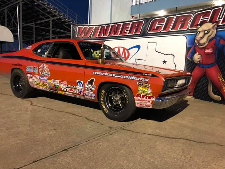 Austin Williams D4 LODRS Stock Winner Texas Motorplex Race 2
