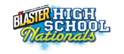 Blaster High School Nationals logo